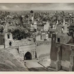 "The Wind Catchers of Hyderabad 1928 - Photo from the book ""Architecture without Architects"" by Bernard Rudofsky"