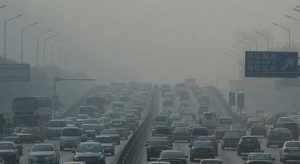 Escalating traffic congestion and air pollution. Resource: ResearchGate